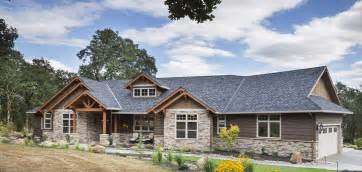 Ranch Floor Plans With Split Bedrooms jaw dropping mix of ranch amp craftsman style home hq plan