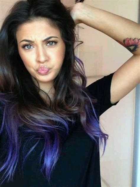 pics of black women hair ends colored 74 best dip dye hair images on pinterest colourful hair