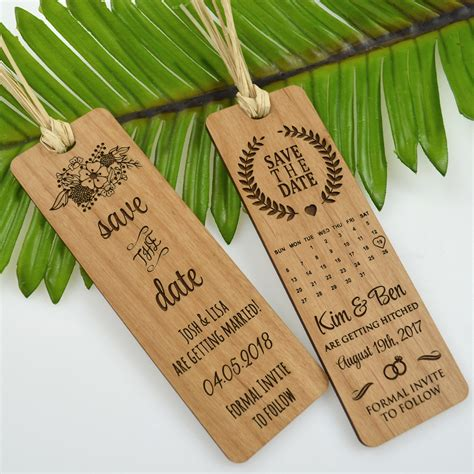 %name engraved wedding invitations   Wooden Wedding Invitations   Laser Link