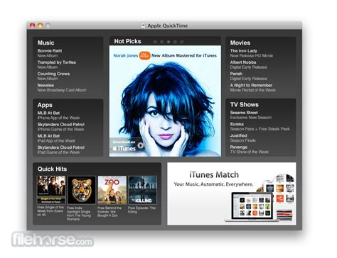 how to update quicktime player on a mac quicktime 7 7 0 leopard download for mac filehorse com