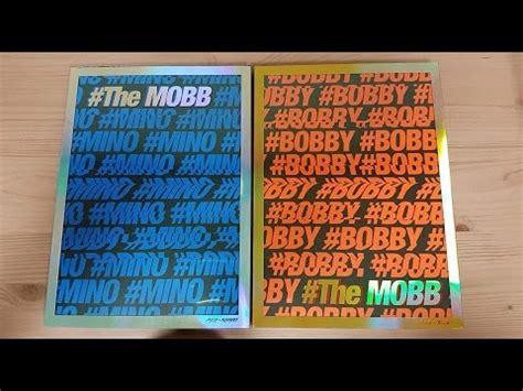The Mobb Mino Version Poster unboxing mobb 데뷔 1st mini album the mobb mino bobby version