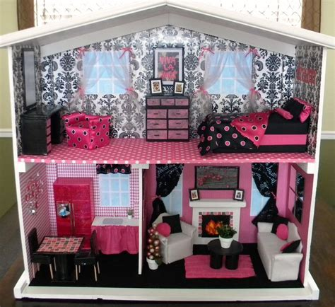 how to make a big barbie doll house best 25 homemade barbie house ideas on pinterest barbie house diy doll house and