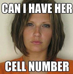 Latest Internet Memes - attractive convict meme doctored mugshots poking fun at