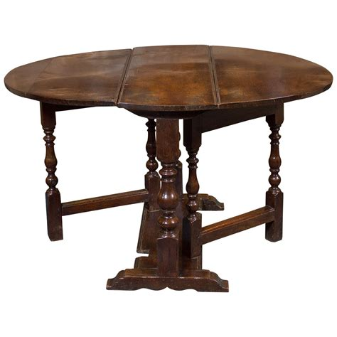 drop leaf table with bench diminutive english oak gateleg table circa 1750 at 1stdibs