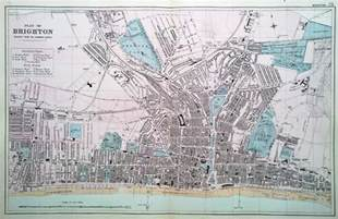 map of brighton colorado original antique town map of brighton dated circa 1885