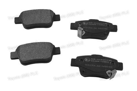 Toyota Corolla Brake Pads Genuine Toyota Corolla Verso Car Replacement Brake Pads