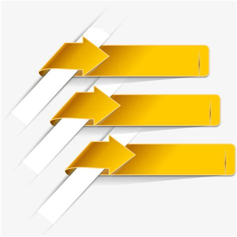 arrow color text box png image and clipart yellow arrow label label clipart ppt classification