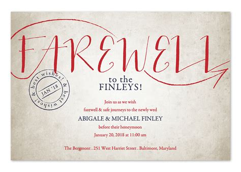 designs of invitation cards for farewell party vintage sendoff party invitations by invitation