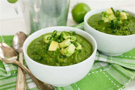 Spinach Detox Soup by Post St S Day Spinach Avocado Detox Soup