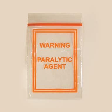 Handbag Health Warning by Warning Paralytic Bag 3 X 4