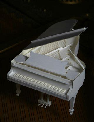Piano Papercraft - 1000 images about intricate paper craft musical