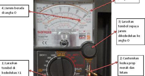 Analog Voltmeter Elektrik Merk Heles isea elektrik cara menggunakan multimeter analog