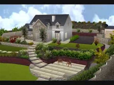 increasing use of 3d architecture in landscape designing stone art 3d garden design youtube