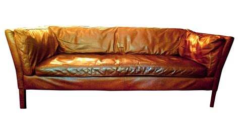 sorensen leather sofa sorensen leather sofa from restoration hardware chairish