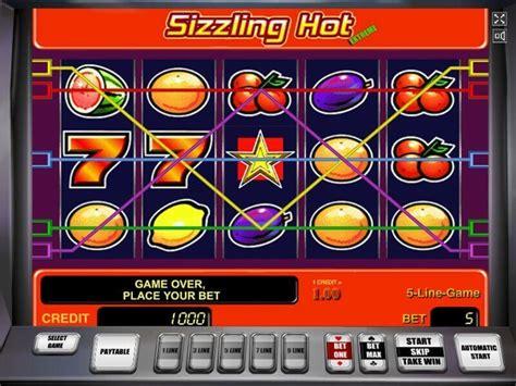 sizzling hot slot machine play