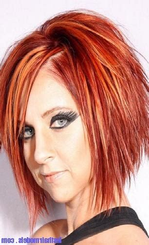 15 best collection of long jagged hairstyles