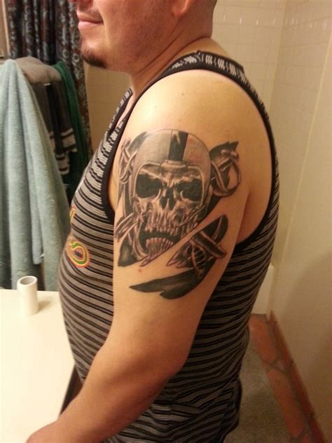 raider tattoos oakland raiders picture at checkoutmyink