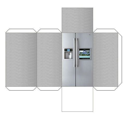 How To Make A Paper Refrigerator - 72 best images about paper craft on hyundai