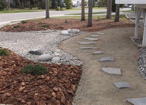 Gravel Beds Landscaping Residential Landscape Design Marianne Darragh
