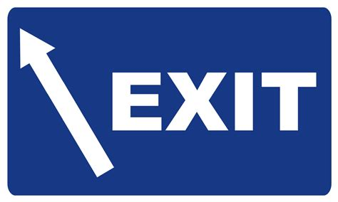 Exit A exit r sign www imgkid the image kid has it