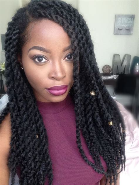 how long can marley twists last msnaturallymary marley twists natural hair pinterest
