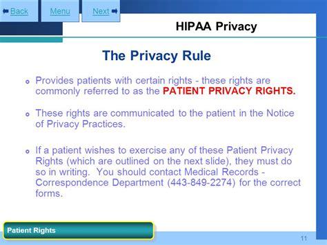 Hipaa Privacy Rights Gbmc Hipaa Compliance Program Ppt