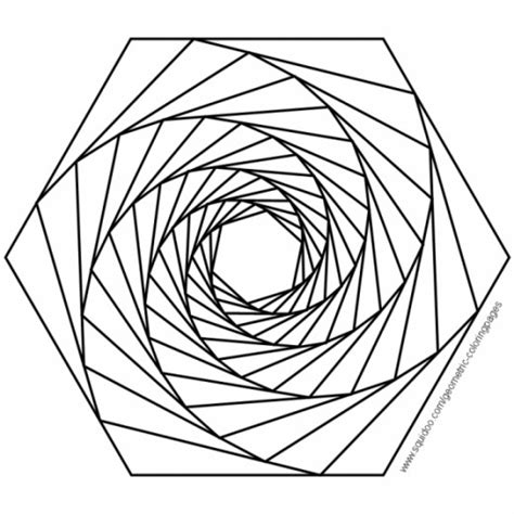 3d coloring book geometric coloring pages hubpages
