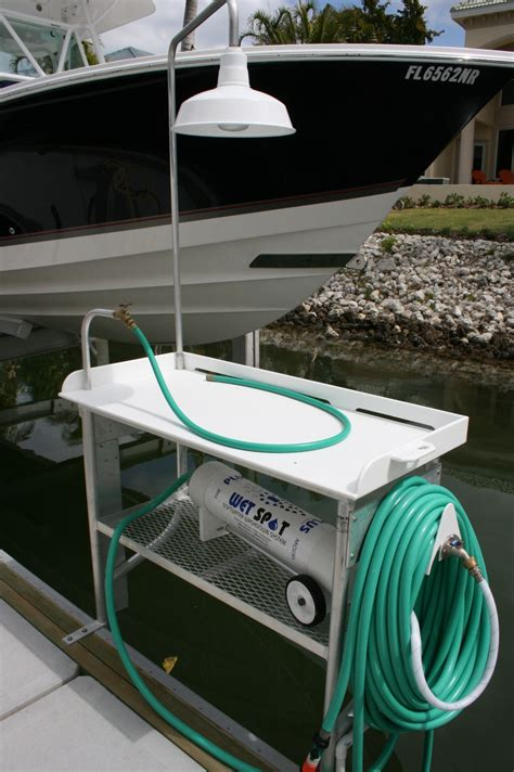 aluminum fish cleaning table accessories garland marine construction