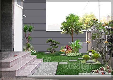 desain taman depan rumah taman minimalis depan rumah jardim da entrada