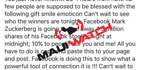 Facebook Giveaway Hoax - facebook giveaway a hoax mauiwatch