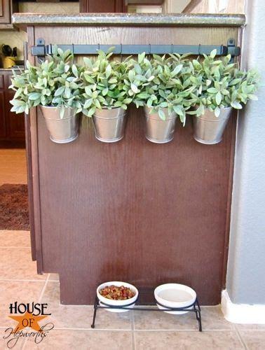 hanging indoor herb garden home design collections towel bar turned hanging planter