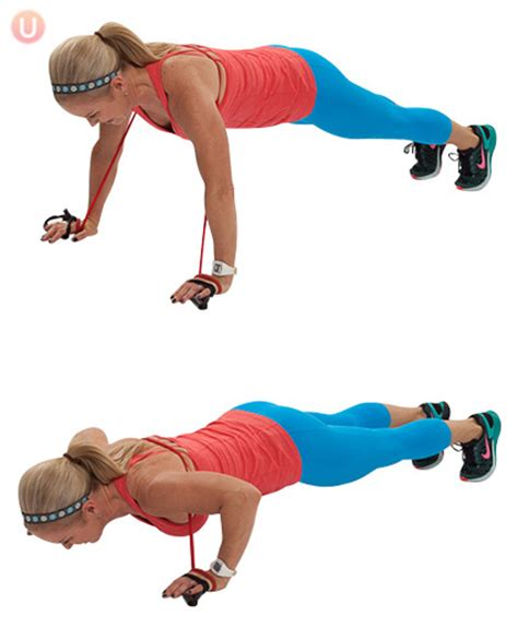 push up resistor 7 resistance band to tone the whole
