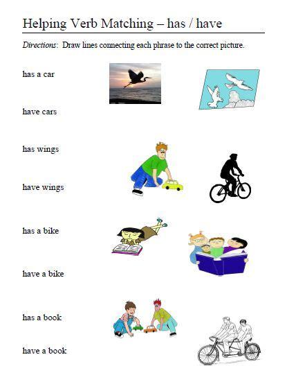 all worksheets 187 helping verb worksheets printable