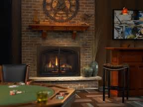 heat glow escape i35 gas fireplace insert direct vent