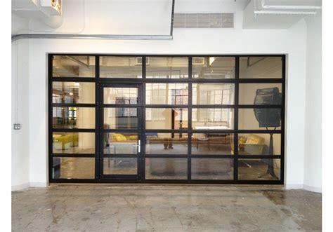 Roll Up Glass Garage Doors Glasspassingdoor View Aluminum Glass Garage Door With Passing Door Garage Roll Up