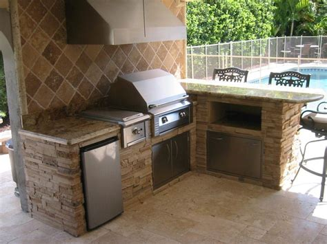 outdoor kitchen backsplash ideas charming wall mounted gas grill from char broil bbq appliances on venetian gold granite
