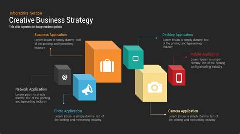 creative business strategy powerpoint keynote template