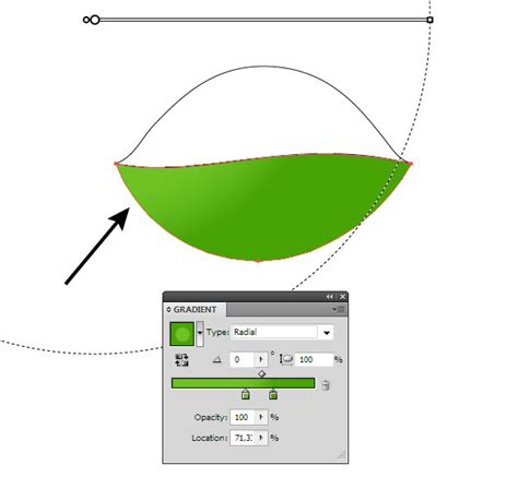 vector leaf tutorial illustrator basics how to create realistic vector leaves