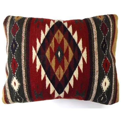 Zapotec Pillows by Zapotec Wool Throw Pillow 14in X 17in Jgmf 72