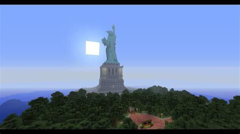 minecraft liberty island statue  liberty