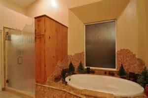 Remodeled bathrooms by cook remodeling rustic bathroom