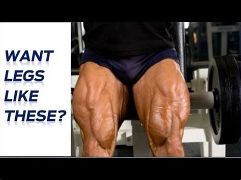 how to get bigger legs advanced leg workouts for mass