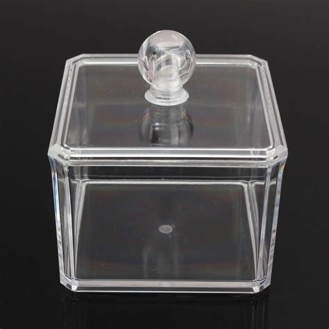 Acrylic Box Makeup clear acrylic makeup cosmetic display jewelry organizer