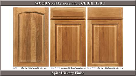 Kitchen Cabinet Door Finishes 613 Hickory Cabinet Door Styles And Finishes Maryland Kitchen Cabinets Discount Kitchen