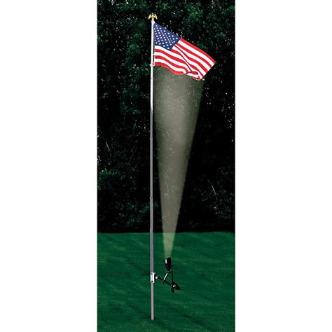 solar patriot light 130892 solar outdoor lighting at