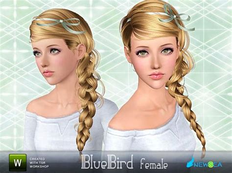 sims 3 hairstyles free download the sims 3 custom content bluebird female hair
