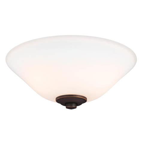 monte carlo ceiling fan light kit monte carlo bowl 3 light bronze ceiling fan light