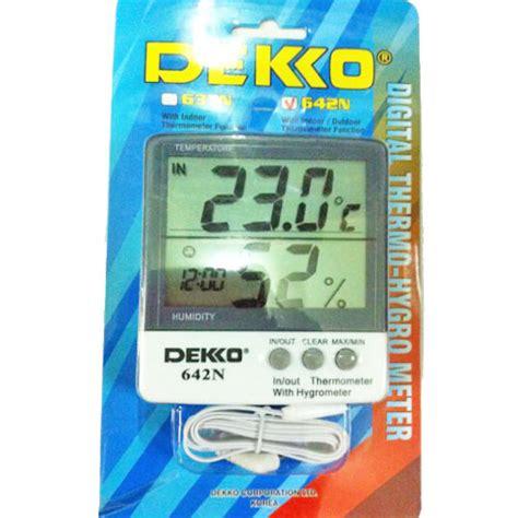 Produk Digital Multimeter Dekko 86d jual dekko 642n digital thermohygrometer alat ukur suhu dan kelembaban udara