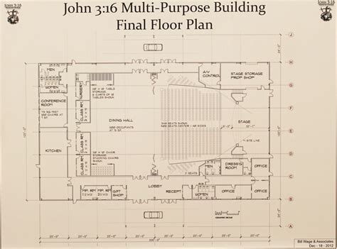 multi purpose hall floor plan work begins on john 3 16 ministries multipurpose building