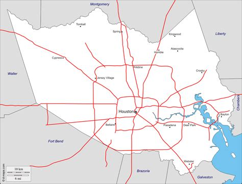 Records Houston 100 Map Of Houston Map Records Of Harris County My